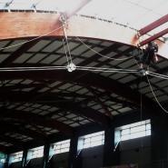 Prace antykorozyjne na wysokości