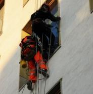 montaż balustrady alpiniści