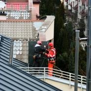 montaż konstrukcji stalowej na dachu