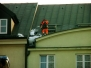 Odśnieżanie dachów, usuwanie nawisów lodowych, sopli