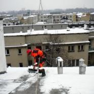 odśnieżanie dachów
