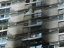 Miejscowa naprawa docieplenia elewacji po pożarze
