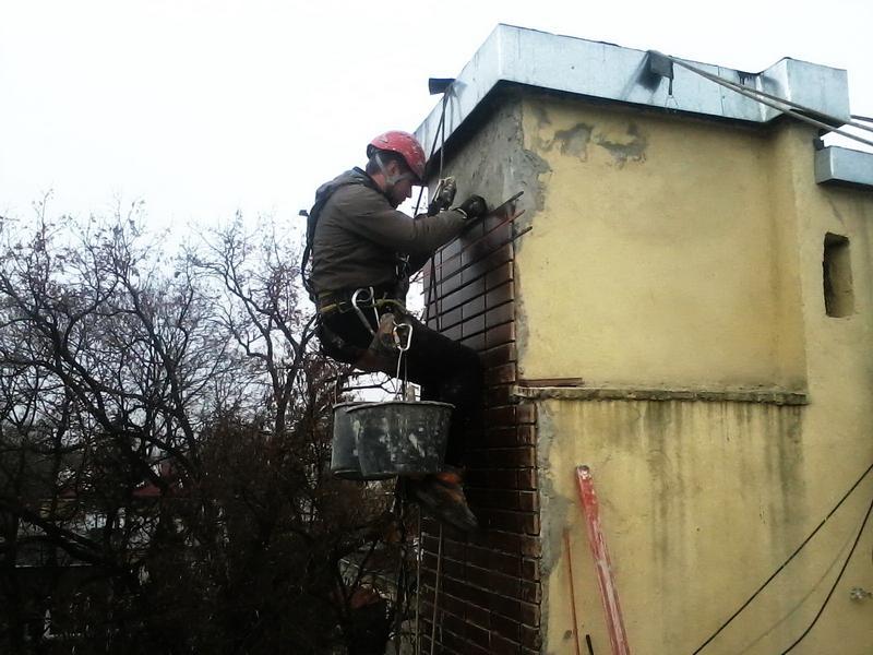 Remont komina na domu mieszkalnym